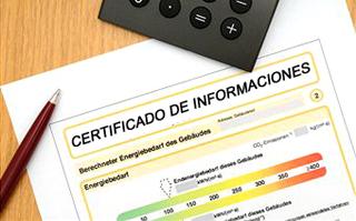 Certificado de Informacion Previas