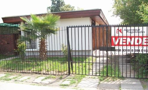 Vender Casa Conchali Amplia y Espectacular Casa en Sector La Palmilla Conchalí en Conchalí Casa Un Piso en Venta Conchalí
