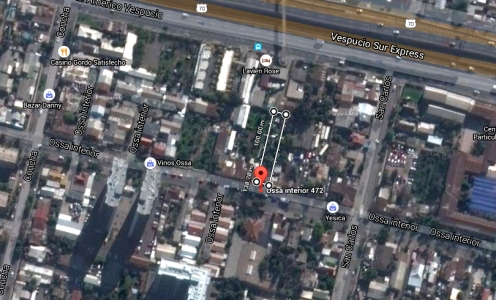 Corredores de Propiedades La Cisterna Terreno 600m2 para Galpón, Bodegaje o Inversión Inmobiliaria en Propiedades Comerciales y Terrenos  en Venta Propiedades Comerciales y Terrenos
