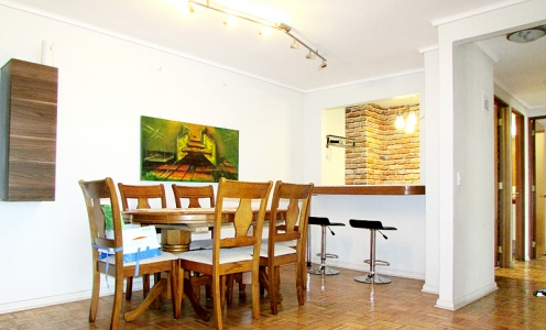 Gran Departamento Familiar 100m2 – 3D Plaza Ñuñoa en Casas en Venta  en Venta Casas en Venta en Ñuñoa